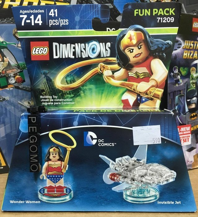 【痞哥毛】LEGO 樂高 71209 Dimensions 神力女超人 Fun Pack 全新未拆 三合一  Xbox
