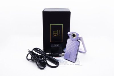 【台中青蘋果】Casio TR60 TR-60 紫 自拍神器 二手 數位相機 #32579