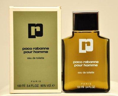 Paco Rabanne Pour Homme 同名男香EDT 50ml 馥奇 橡苔薰衣草 老香 vintage代購