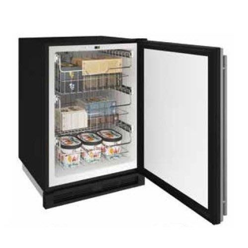 【得意家電】美國 U-line 1224FZR 可轉換式冷凍/冷藏櫃(黑色門片)