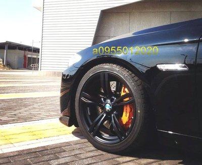 類BMW F10 M5限量消光黑式樣5孔120 20吋鋁圈F01/F02/F07/F10/F11/F14//X3.4.5