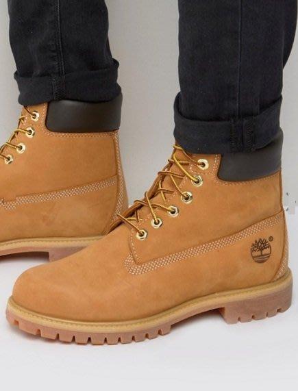 ◎美國代買◎ASOS代買timberland經典膠底鞋帶靴~中性款~大尺碼~歐美街風~