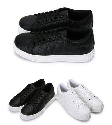 富發牌。女鞋。1CK51 網格休閒鞋 (白/黑) (23-25.5號) ~nanakids娜娜童櫥