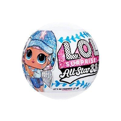 『悅悅小鋪』 LOL驚喜娃娃全明星運動會棒球系列ALLSTARBB拆拆球大姐姐盲盒玩具KI569