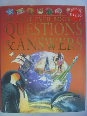【月界】Biggest Ever Book of Questions & Answers_Fardon〖少年童書〗AHN