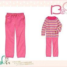 【B& G童裝】正品美國進口GYMBOREE Knit Pants 內裡棉粉紅色棉長褲8號7-8yrs