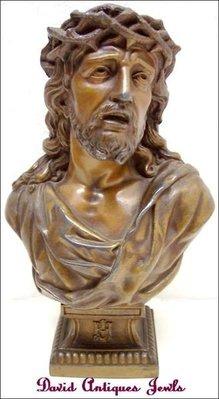 ((天堂鳥)) 十八世紀前期耶穌基督胸像