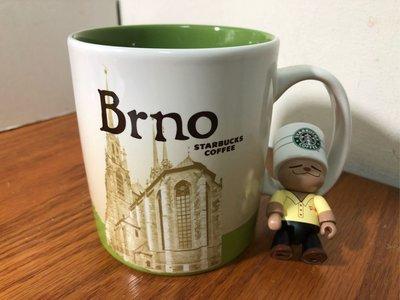 星巴克 捷克 布爾諾 城市杯 馬克杯 city mug icon 有標無瑕 16oz(大杯)