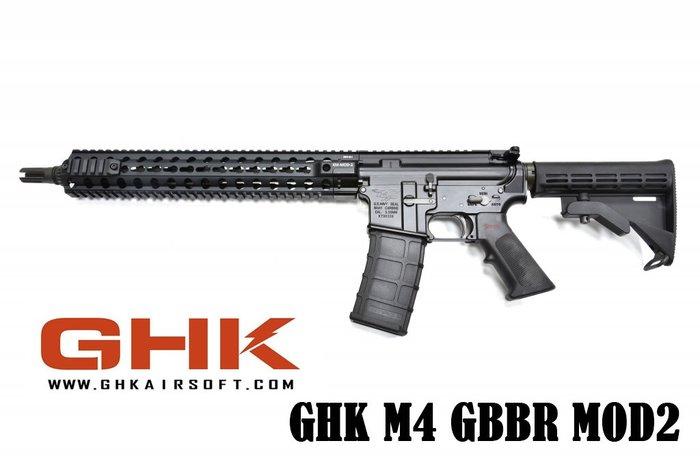 【翔準軍品AOG】GHK M4 RIS GBB VER2.0 (Navy seal刻印)MOD2) 步槍 美軍 瓦斯槍