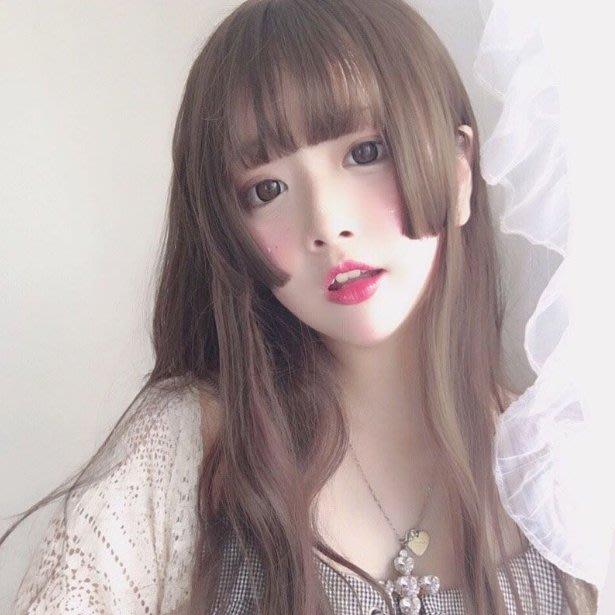 Q806-姬發式男女cos假髮長直發偽娘變裝三刀齊日常lolita公主切水母頭#漫畫發型#cos發套
