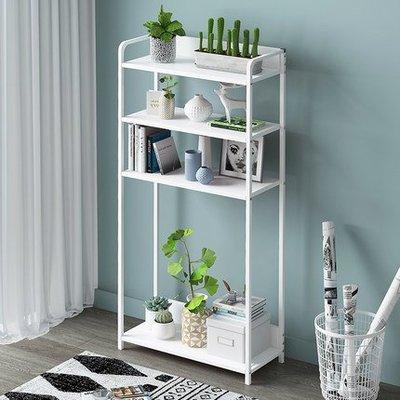 『i-Home』簡易書架落地櫃子置物架桌上小書架客廳簡約書櫃置物架收納架
