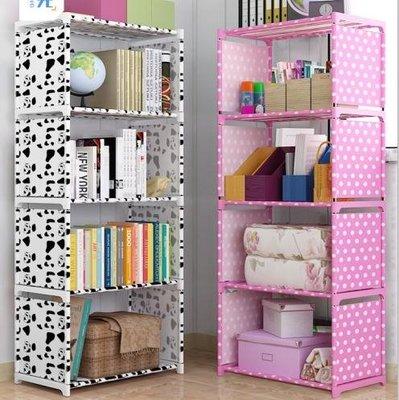 書架 簡易書架落地置物架學生用書櫃小書架桌上兒童簡約現代收納儲物櫃T 4色