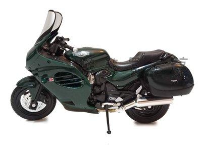 現貨/出清 凱旋 TRIUMPH 2002年 Trophy 摩托車 仿真合金重機模型 實物拍攝