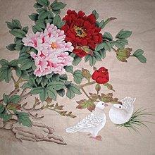yes99buy加盟-寫意字畫-純手繪國畫 工筆牡丹畫    預購7天+現貨