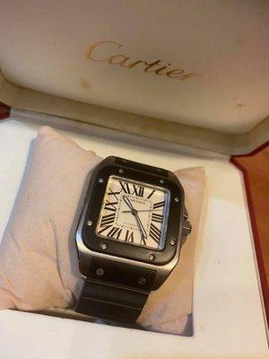 【惠民精品】Cartier Santos 100 盒單/精品/首飾/禮物/求婚/情人節/父親節/母親節