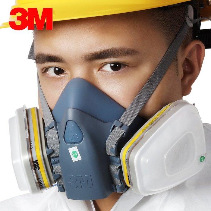 解憂zakka~ 7502防毒七件套 6057濾盒 防氟化氫 硫化氫 氨氣 甲胺#防護用品#勞保用品