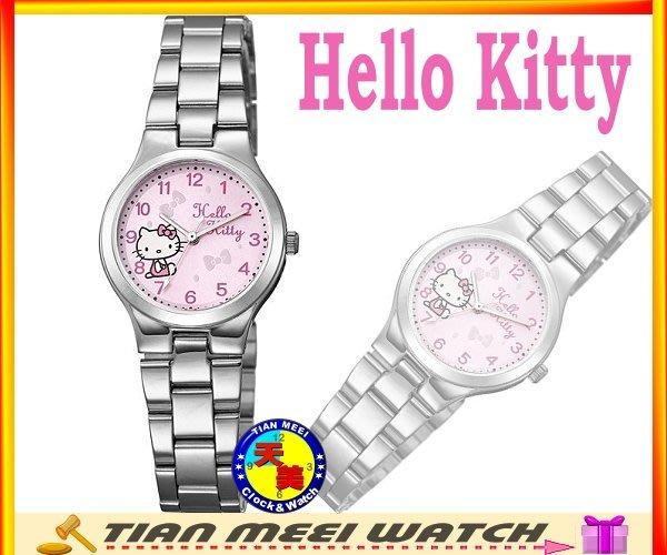 【全新原廠公司貨】【天美鐘錶店家直營】【下殺↘超低價有保固】日本Hello Kitty-KT602LWPA 粉紅