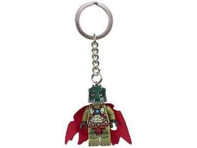 【LEGO 樂高】100% 全新美國正品 益智玩具 積木/ Chima神獸傳奇系列 鑰匙圈 Cragger 850602