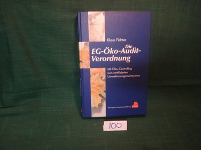 【愛悅二手書坊 16-45】EC-Oko-Audit-Verordnung