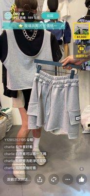 韓國夏天新款 運動休閒背心運動套裝