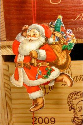 哈囉聖誕老公公拉繩木偶:聖誕節 老公公 拉繩木偶 吊飾 家飾 居家 設計 手工 禮品