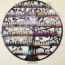 美學206鐵藝指甲油架子 精品展示櫃 美甲店化妝品展示架 壁掛貨架多層架❖50141