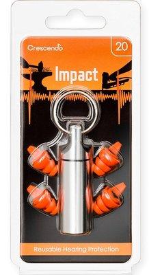 荷蘭製 Impact 爆炸音專用濾音器 (像是: 釘槍, 撞擊)( 比3M泡棉耳塞更好的選擇 ,因可聽到周遭聲音)