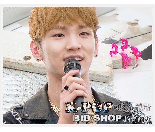 眾多藝人愛用韓國유니콘立體耳飾 正韓進口ASMAMA官方正品 SHINee KEY 同款奔馬造型耳釘耳環 (單支價)