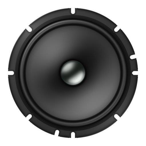 先鋒 PIONEER TS-A1600C 分音喇叭 6.5吋 二音路分離式喇叭 公司貨 350W