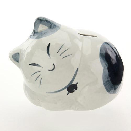招財貓館--日本進口和風招財貓存錢筒/擺飾/開店送禮/貯金箱--秘密花園