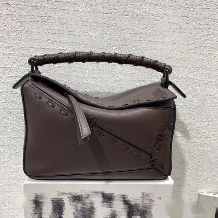 《海外原單》西班牙王室御用品牌小牛皮編織工藝puzzle bag