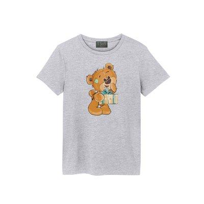T365 可愛 熊熊 萌 布偶 禮物 驚喜 T恤 男女皆可穿 多色同款可選 短T 素T 素踢 TEE 短袖 上衣 棉T