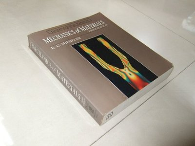 古集二手書e ~Mechanics of Materials 3/e R.C. Hibbeler 0132733358