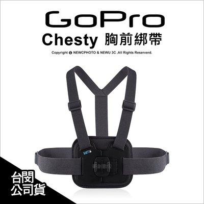 【薪創新生北科】GoPro 原廠配件 Chesty 胸前綁帶 束帶 胸前固定帶 綁帶 AGCHM-001 公司貨