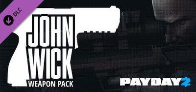 STEAM PAYDAY 2 : John Wick Weapon Pack DLC 劫薪日2 : 約翰維克 武器包