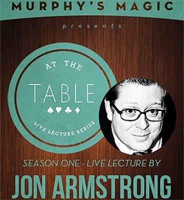 【天天魔法】【MS21】正宗原廠~Jon Armstrong 沿桌魔術現場講座(Table Live Lecture)