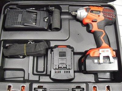 外銷日本ASAHI 21V4.0AH三星鋰電 電動起子機/  充電板手/ 充電電動板手扭力650n.m icd1431雙電池 台北市