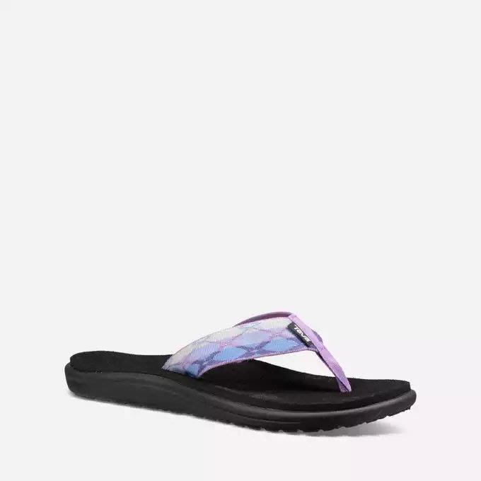 [WALKER 休閒運動] TEVA Voya Flip 美國戶外水陸兩用夾腳拖鞋 女 1019040TRPR