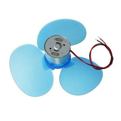 Kitronik micro bit fan 三葉風扇 90mm Blue Three Blade Propeller