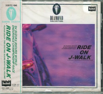 【嘟嘟音樂坊】J-WALK - RIDE ON J-WALK  日本版  (全新未拆封)