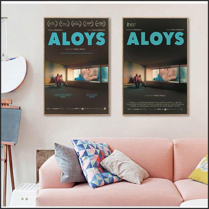日本製畫布 電影海報 尋愛偵探阿洛伊斯 Aloys 掛畫 嵌框畫 @Movie PoP 賣場多款海報#