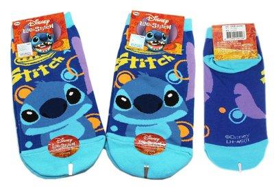 【卡漫迷】 史迪奇 襪子 22-24cm 三雙組 ㊣版 星際寶貝 Stitch 棉襪 直版襪 短襪 成人可 台灣製造