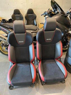 VAB STI 2020原廠RECARO賽車椅 左右一對 正副駕八向電動調整 日規SUBARU車款流用逸品