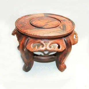 INPHIC-紅木工藝品 大紅酸枝木換鞋凳 矮凳 小板凳 盆景底座