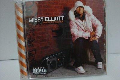 【銅板交易】二手原版CD♥Missy Elliot: Under Construction