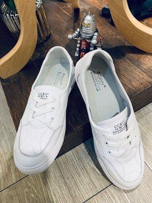 正韓商品 真皮小白鞋 休閒便鞋