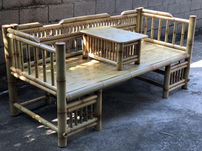 竹製羅漢桌椅-S1000-BM20/不含運費及稅金