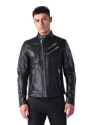 【現貨】新款Diesel L-Oyton 春夏 騎士皮衣/S號 Race Leather Jackets SS16