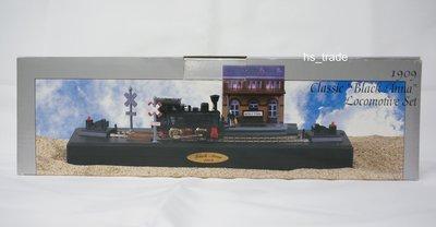 MY-0161 1909 Classic Black Anna Locomotive 蒸汽火車頭 & 波恩火車站 Bonn HBF Train Station
