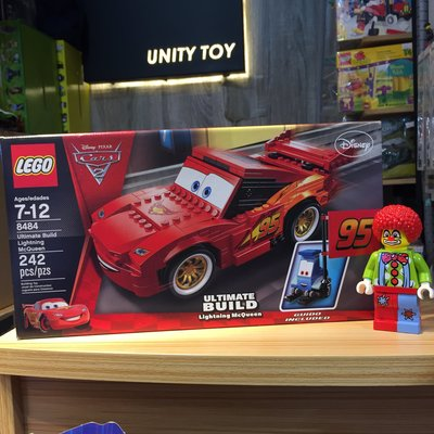 Lego 8484 Cars Ultimate Build Lightning McQueen (Unity Toy)
